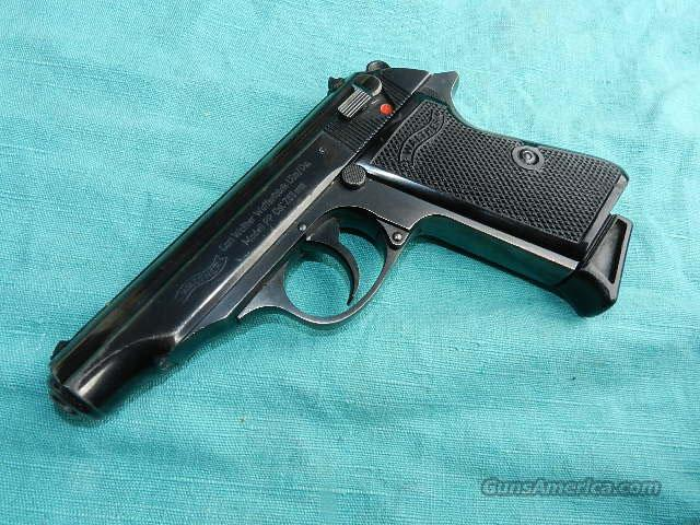 WALTHER PP 32 MADE IN 1963  Guns > Pistols > Walther Pistols > Post WWII > Target Pistols