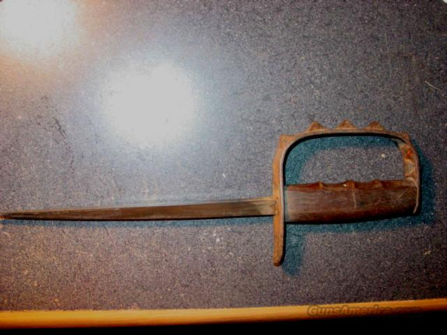 LANDERS FERRY AND CLARK 1917 TRENCH KNIFE  Non-Guns > Knives/Swords > Military > Non-Bayonets