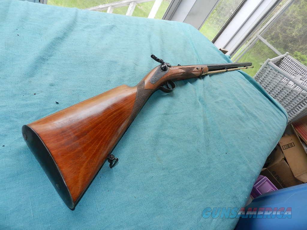 TURNER KIRKLAND BELGIUM BACK ACTION .44 MUZZLE LOADER  Guns > Rifles > Muzzleloading Modern & Replica Rifles (perc) > Replica Muzzleloaders
