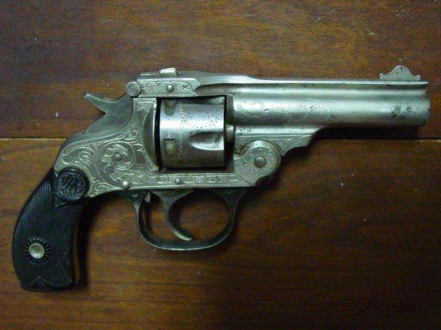 EASTERN ARMS .32 CAL ENGRAVED REVOLVER  Guns > Pistols > Antique (Pre-1899) Pistols - Ctg. Misc.