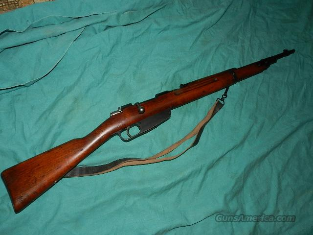 CARCANO CARBINE SA MARKED 7.35MM CAL.  Guns > Rifles > Military Misc. Rifles Non-US > Other