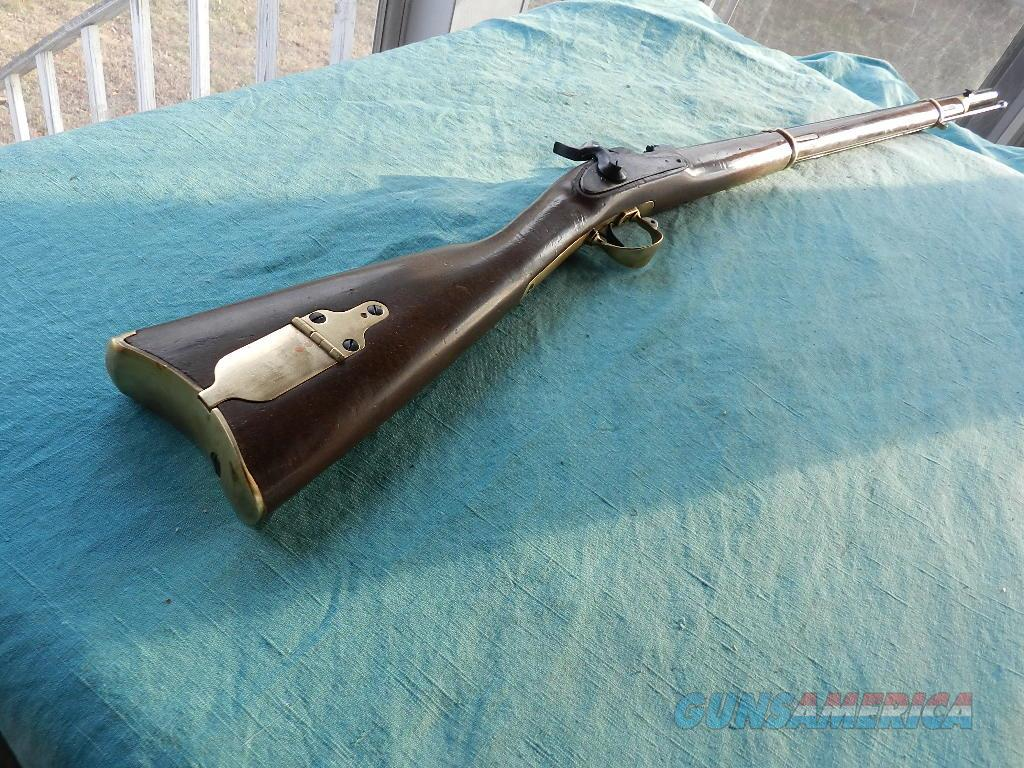 Zouave 1863 Remington Made by Hy-Hunter .58 cal.  Guns > Rifles > Muzzleloading Modern & Replica Rifles (perc) > Replica Muzzleloaders