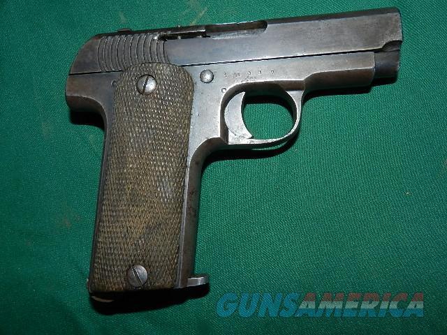 spanish 7 65 1914 automatic pistol - tajemnica icmc2000 ga