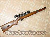 MOSSBERG 151M A SEMI AUTO SCOPED RIFLE  Guns > Rifles > Mossberg Rifles > Other Bolt Action