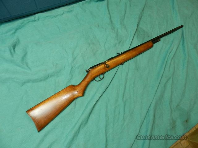 STEVENS UNUSUAL BOLT ACTION .22 RIFLE  Guns > Rifles > Stevens Rifles