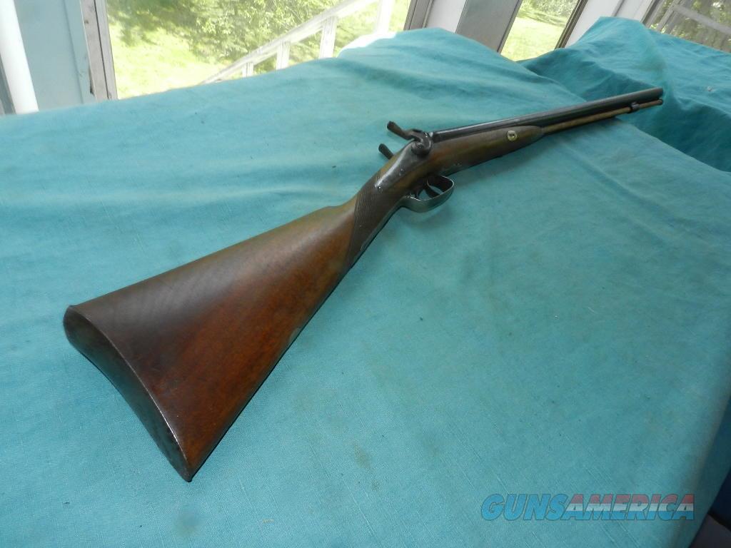 W. PARKER, LONDON FINE TWIST 20GA. HAMMER SHOTGUN  Guns > Shotguns > Antique (Pre-1899) Shotguns - Misc.