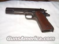 M1911A1 REMINGTON RAND 45 ACP ORIGINAL  U.S  ARMY ISSUE PISTOL 1943  Guns > Pistols > Military Misc. Pistols US > 1911 Pattern