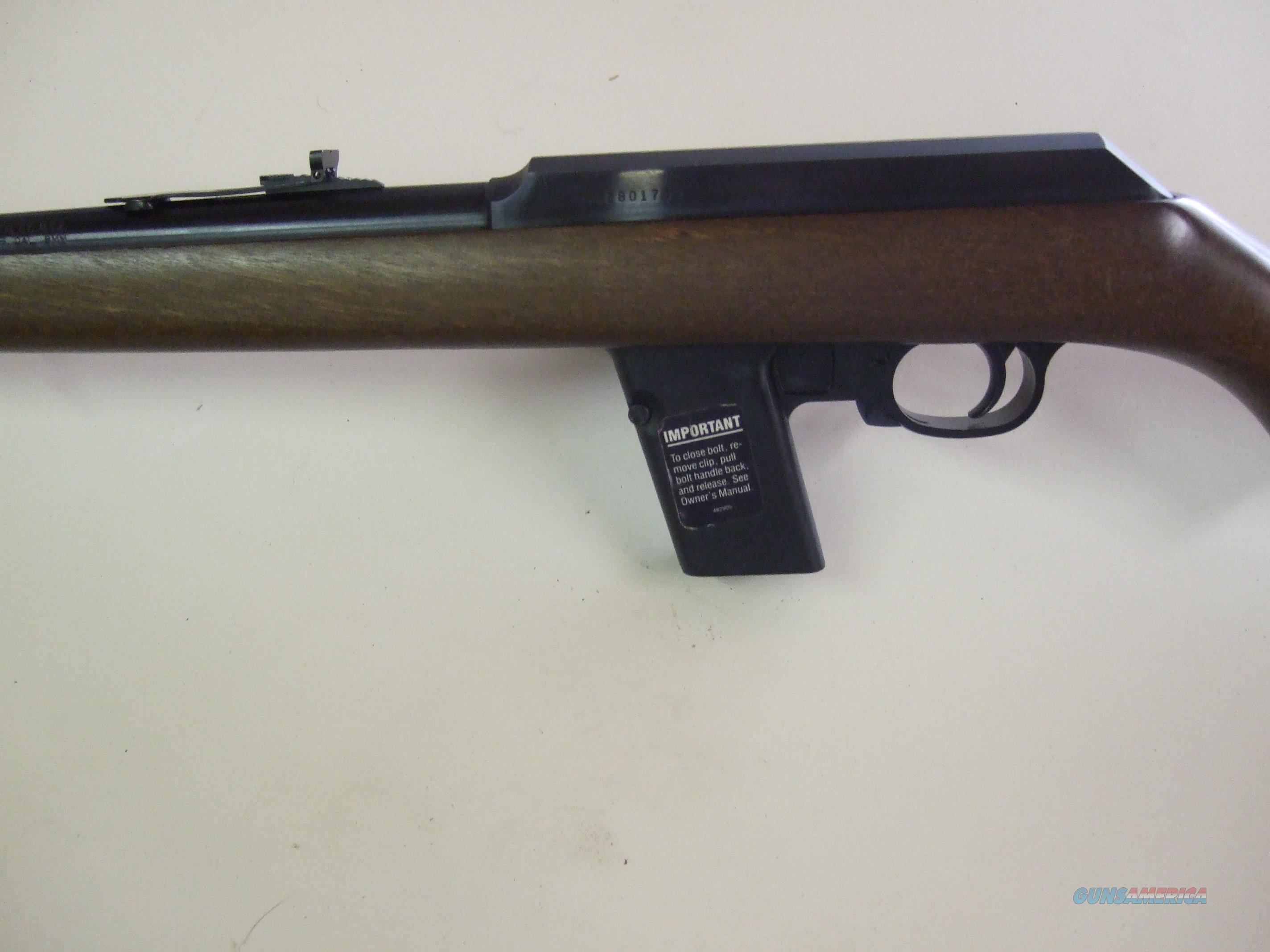 Marlin Camp 9  Guns > Rifles > Marlin Rifles > Modern > Semi-auto