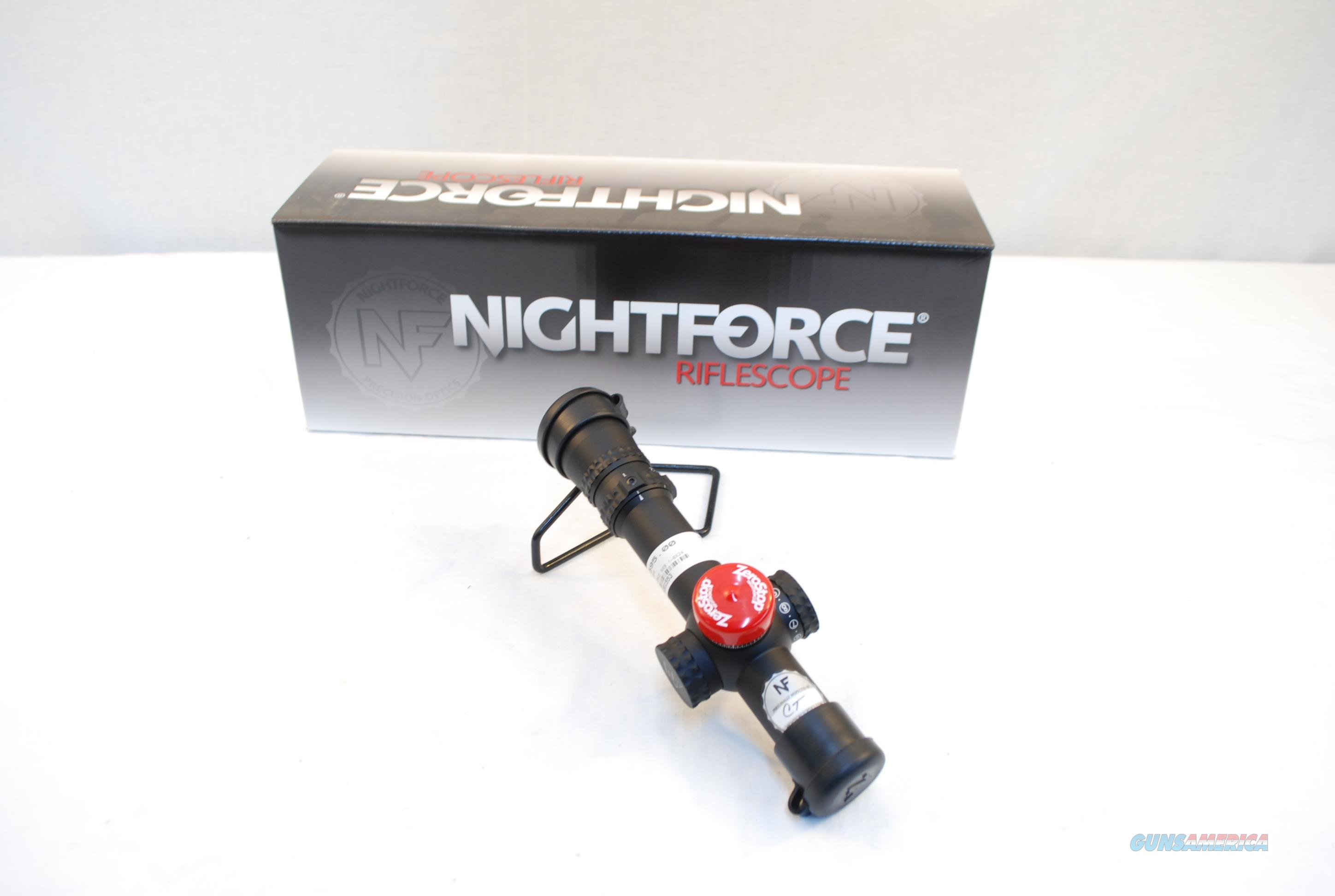Nightforce NX8 1-8x24 F1 !!LAYAWAY IS AVAILABLE!!!  Non-Guns > Scopes/Mounts/Rings & Optics > Rifle Scopes > Variable Focal Length