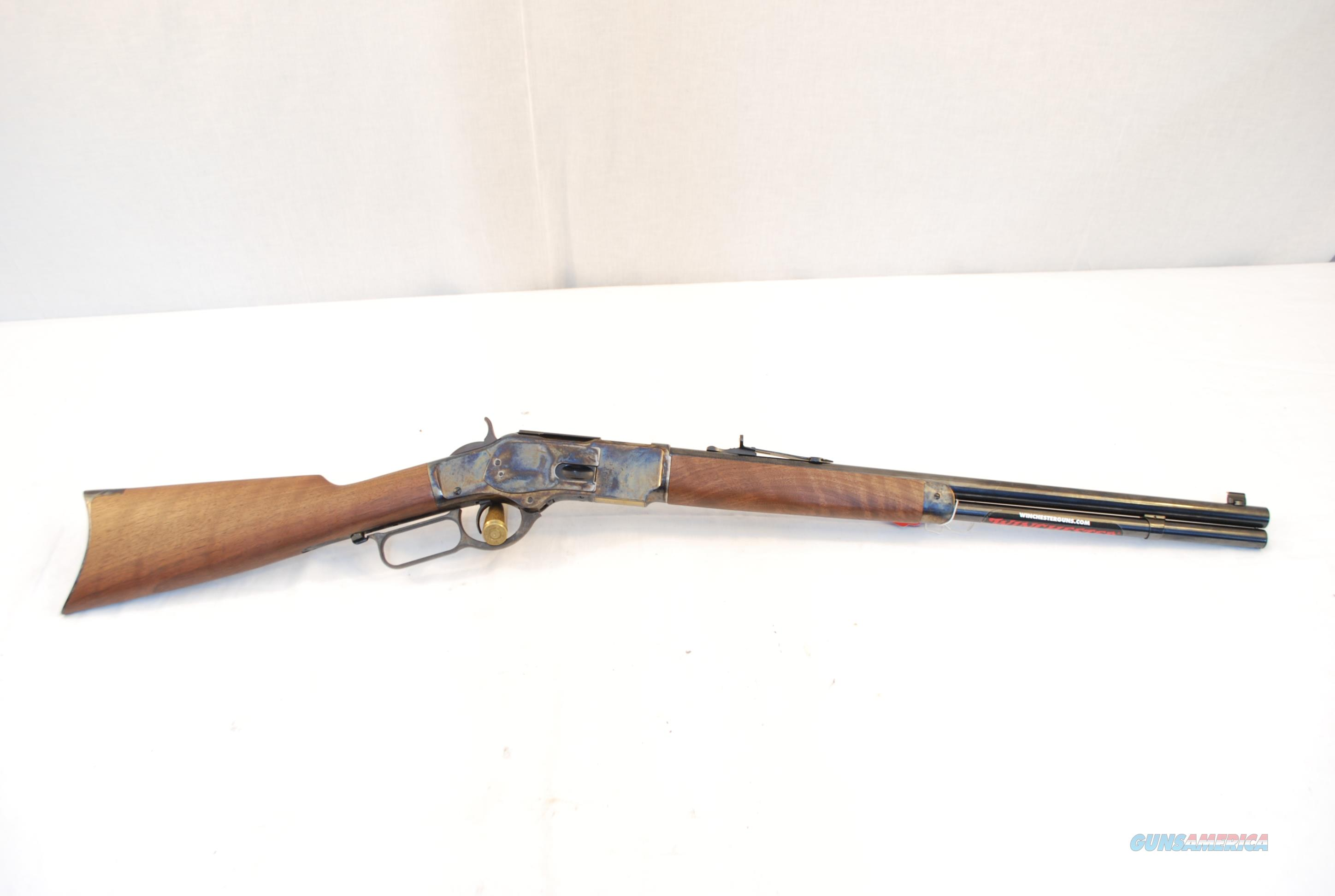 Winchester 1873 Short Rifle .44-40 Color Case Hardened  Guns > Rifles > Winchester Rifles - Modern Lever > Other Lever > Post-64