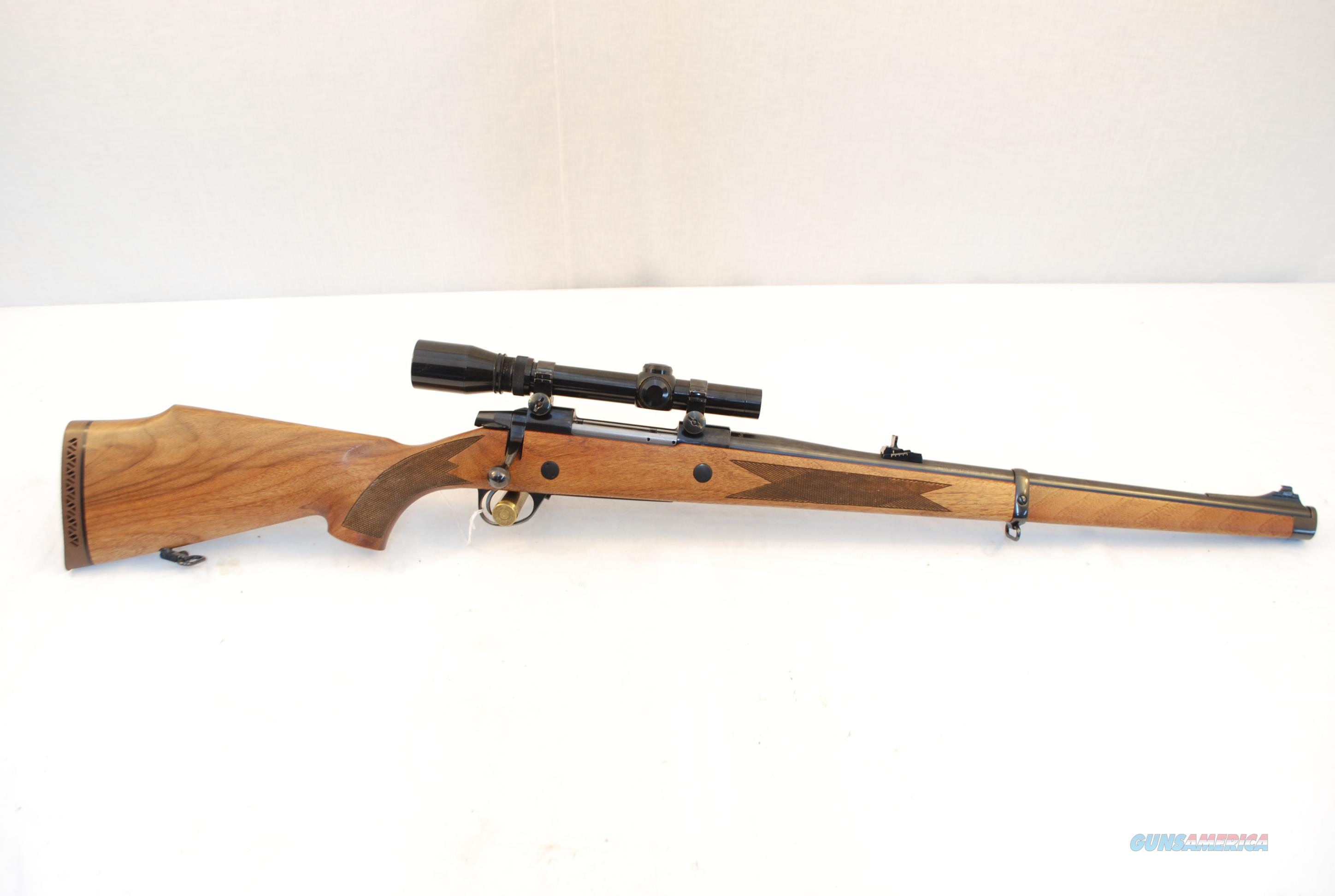 Sako AV Mannlicher .375 H&H w Burris 1 3/4-5x20  Guns > Rifles > Sako Rifles > Other Bolt Action