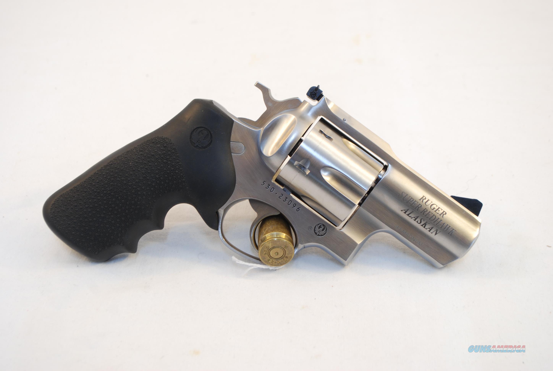 Ruger Super Redhawk Alaskan .44 Mag  Guns > Pistols > Ruger Double Action Revolver > Redhawk Type