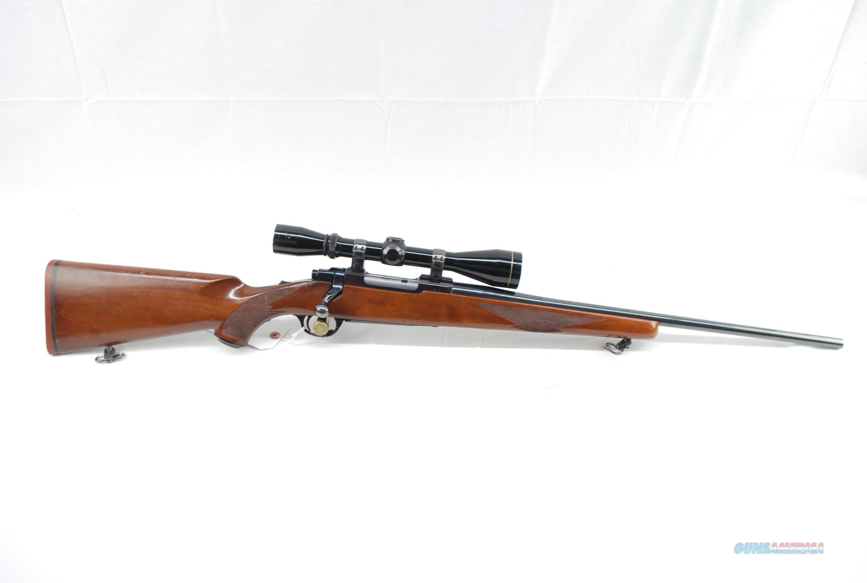 Ruger M77 6mm Rem w Leupold VX II 3-9x40  Guns > Rifles > Ruger Rifles > Model 77