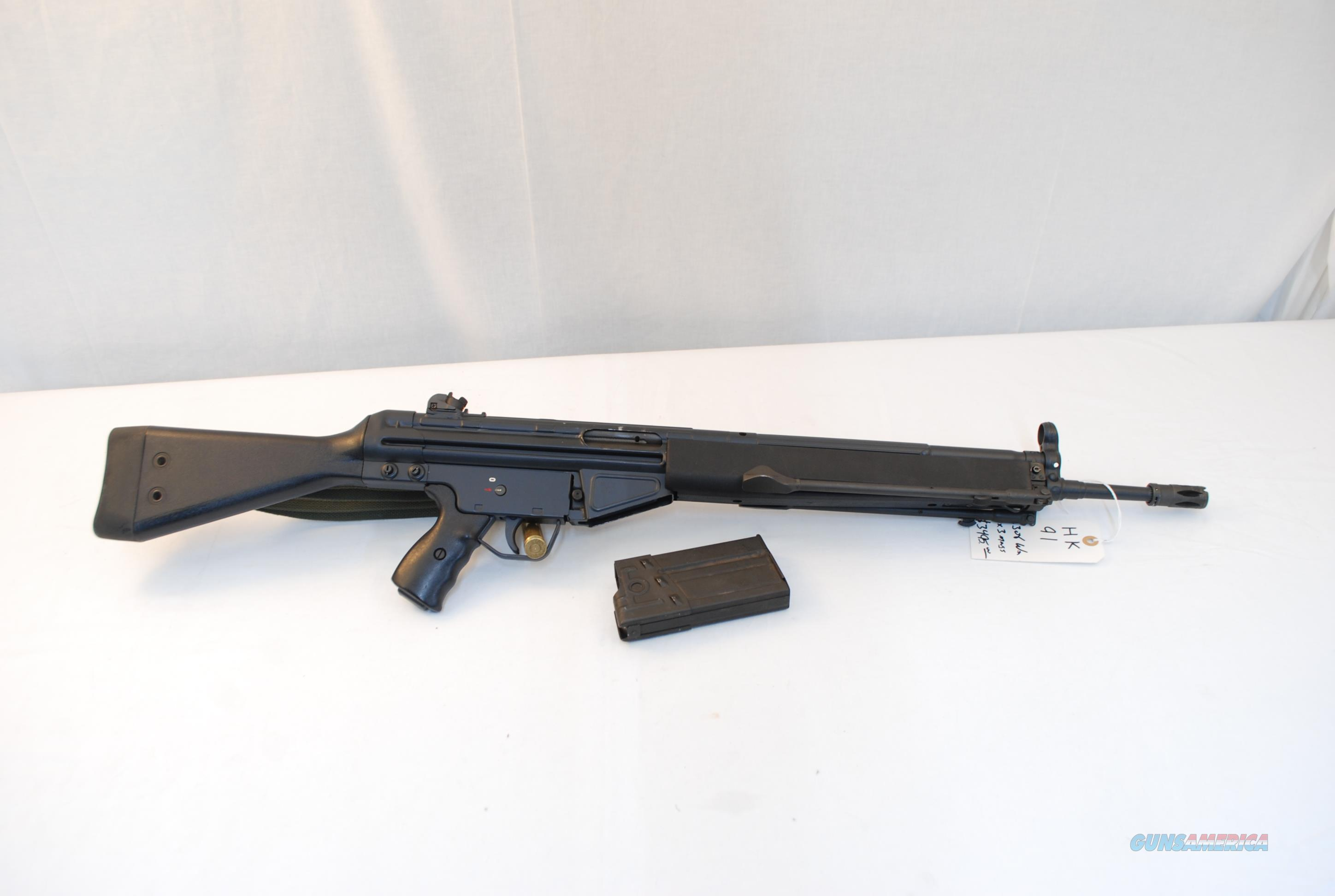 H&K 91 .308  Guns > Rifles > Heckler & Koch Rifles > Tactical