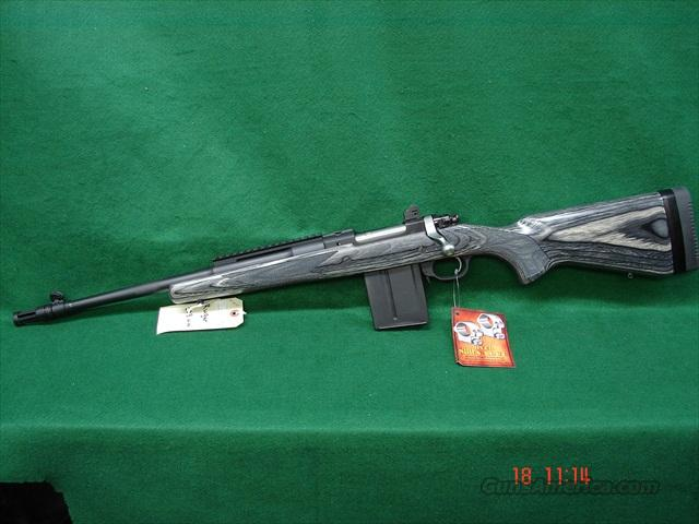 Ruger Gunsite Scout 308 Left Hand  Guns > Rifles > Ruger Rifles > Model 77