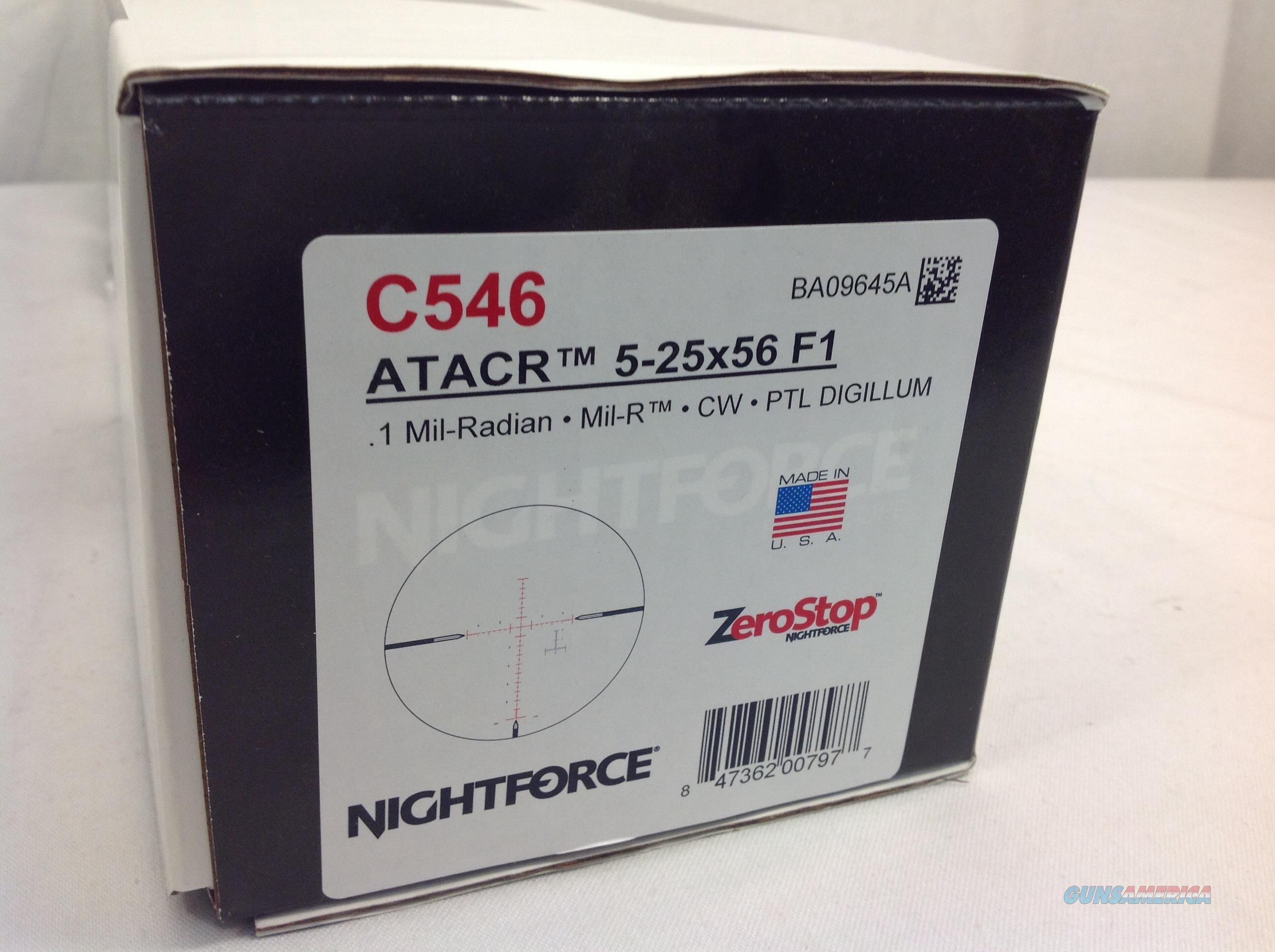 Nightforce 5-25x56 F1  Non-Guns > Scopes/Mounts/Rings & Optics > Rifle Scopes > Variable Focal Length