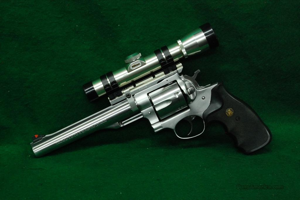 Ruger Redhawk 44 Mag w/ Nikon Scope  Guns > Pistols > Ruger Double Action Revolver > Redhawk Type