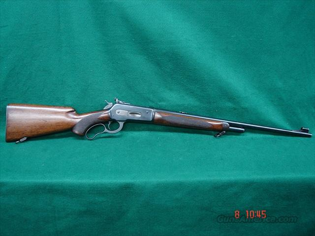 Winchester 71 Deluxe 348 WCF Long Tang Bolt Peep  Guns > Rifles > Winchester Rifles - Modern Lever > Other Lever > Pre-64