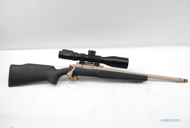 Remington 40-X TDR .308 with Swarovski DS 5-25x52P  Guns > Rifles > Remington Rifles - Modern > Model 700 > Tactical