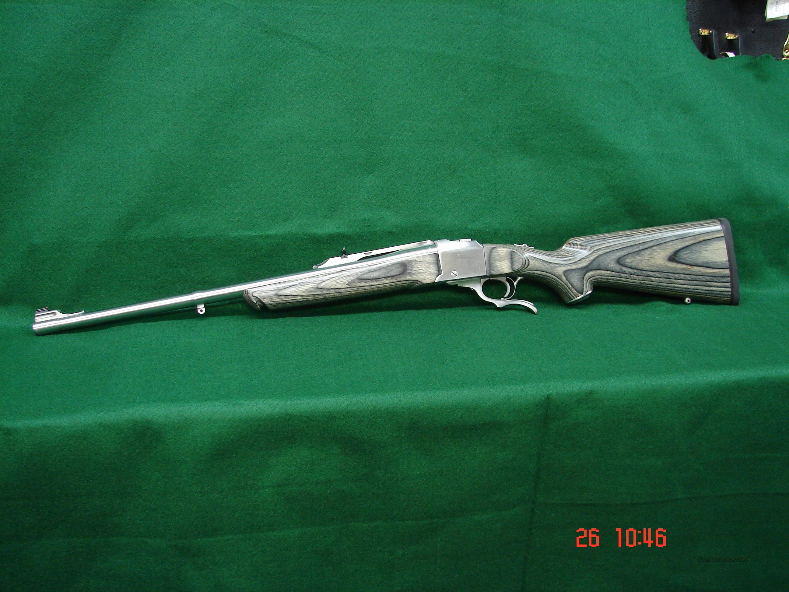Ruger #1A 45-70 Stainless Log# 24849  Guns > Rifles > Ruger Rifles > #1 Type