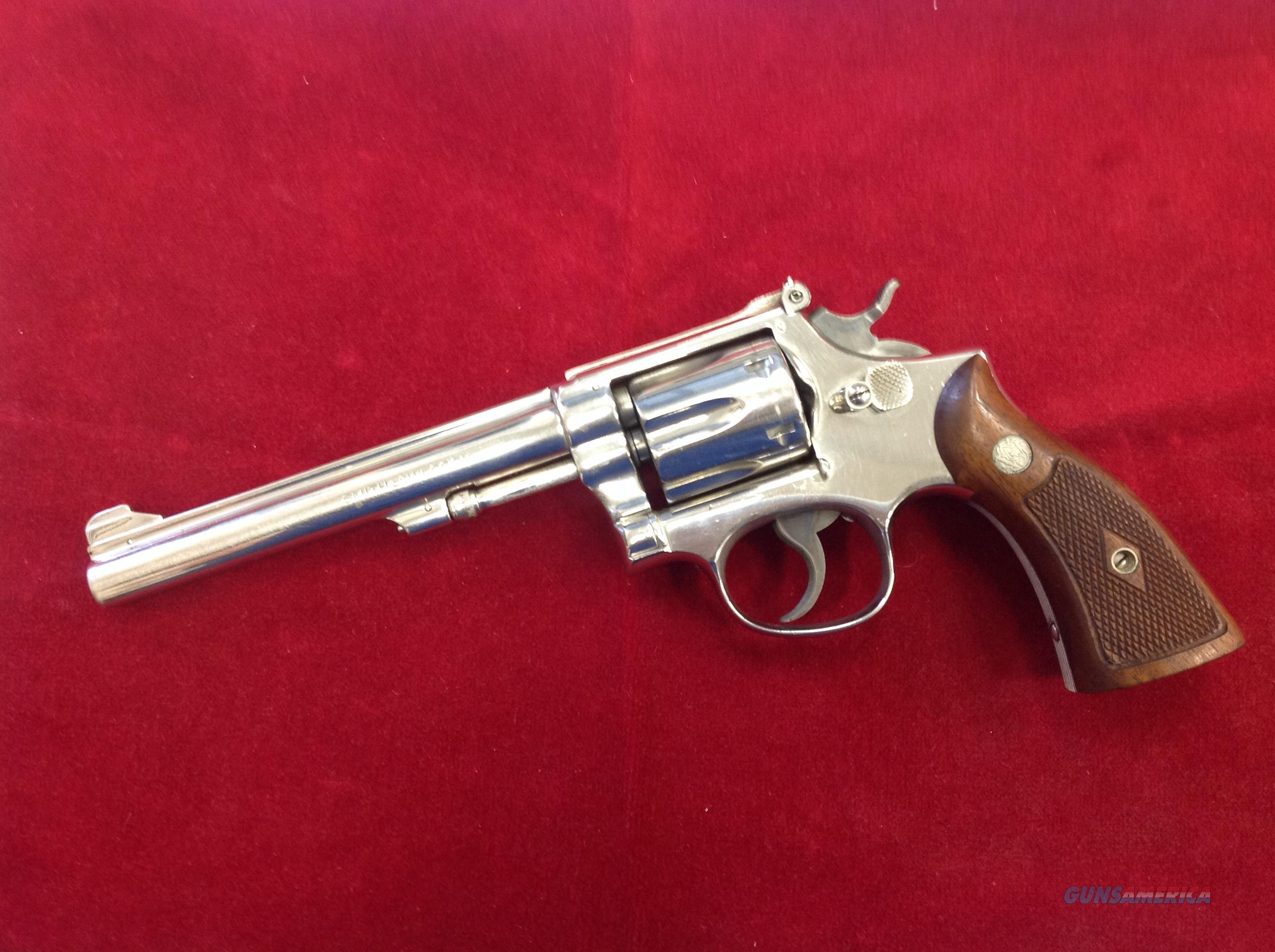 S&W Pre-17 22LR  Guns > Pistols > Smith & Wesson Revolvers > Full Frame Revolver