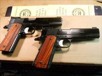 Les Baer Pair Of National Match Hardball 1911's.  Guns > Pistols > Les Baer Pistols