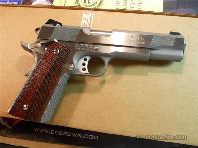 "Les Baer Custom Carry 5"" Stainless Steel New .45 ACP.  Guns > Pistols > Les Baer Pistols"