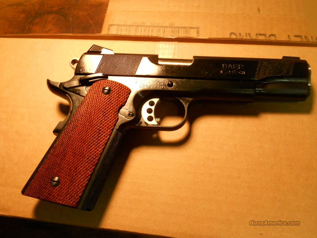 Les Baer Custom Carry Blue .45 acp New.  California Approved.  Guns > Pistols > Les Baer Pistols