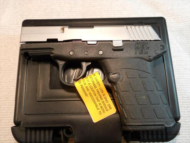Kel-Tec PF-9 Chrome Slide 9mm New.  Guns > Pistols > Kel-Tec Pistols > Pocket Pistol Type