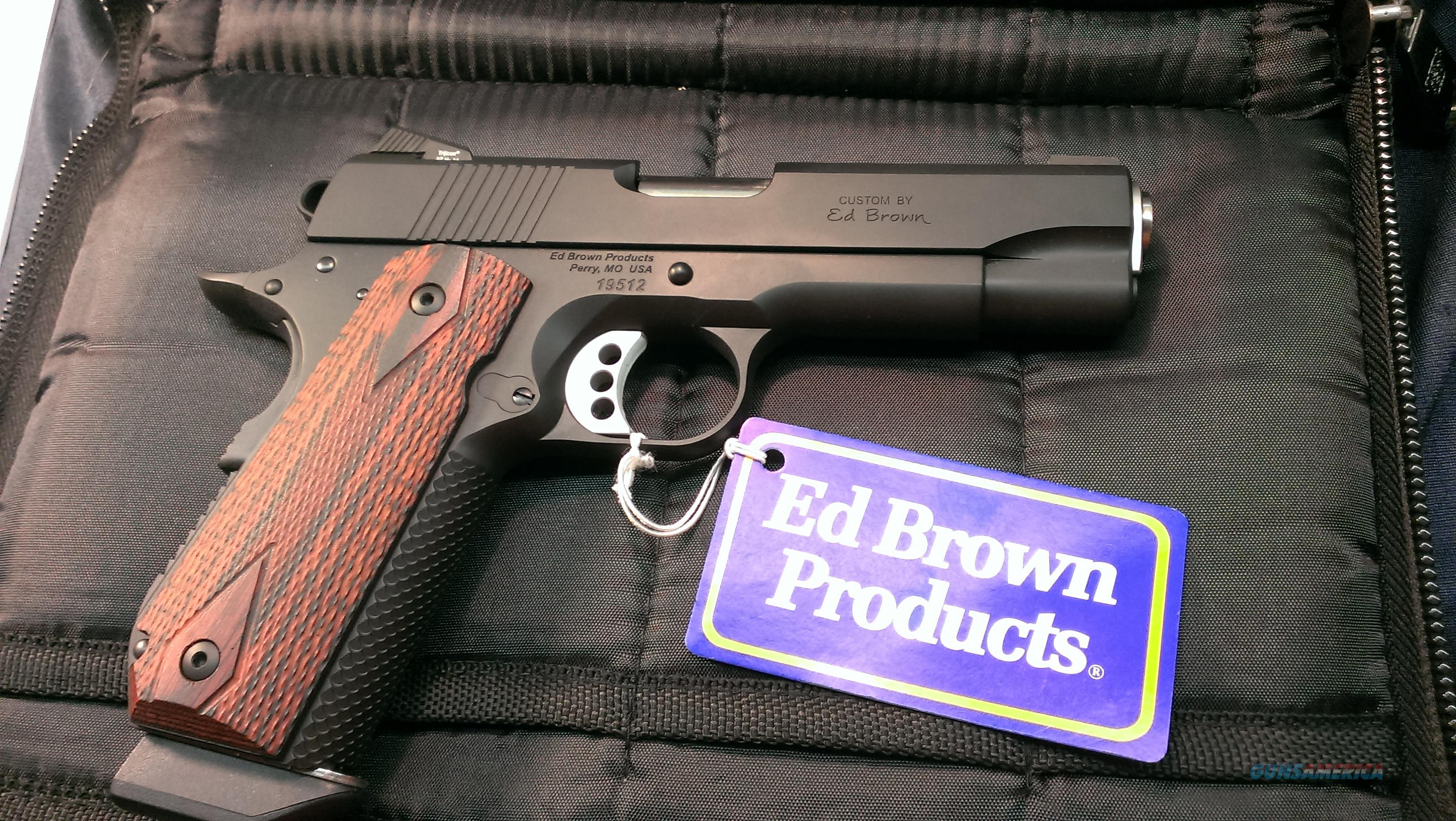Ed Brown EB-SS-CB-G4-38 super no shipping or credit card charge.  Guns > Pistols > Ed Brown Pistols