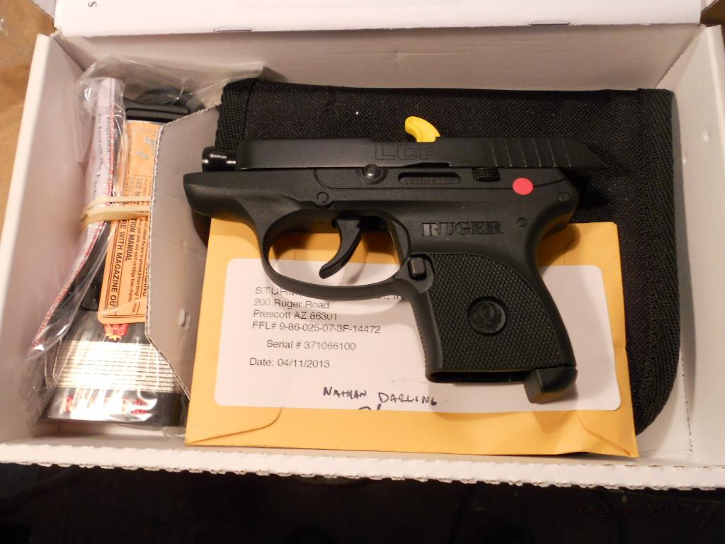 Ruger LCP new in the box.  Guns > Pistols > Ruger Semi-Auto Pistols > LCP