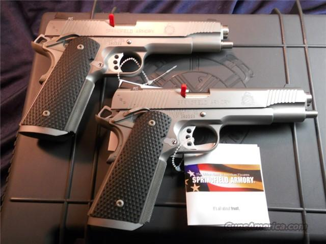 Springfield PC9107LP Tactical Serial # Sequence Pair.  Guns > Pistols > Springfield Armory Pistols > 1911 Type
