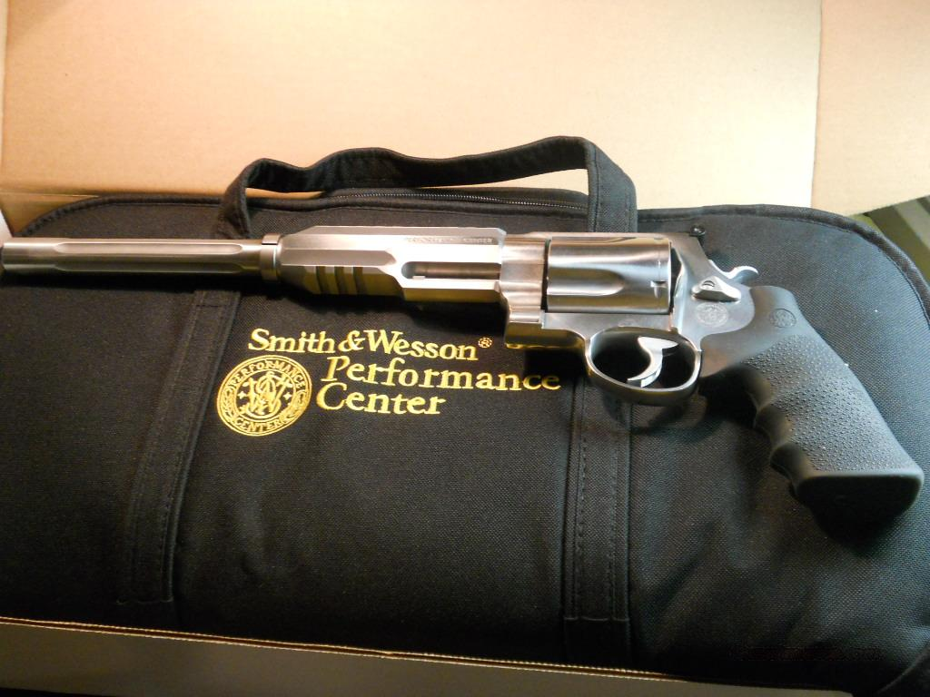Smith and Wesson Performance Center Model 460 Cal. .460S&W.  Guns > Pistols > Smith & Wesson Revolvers > Performance Center