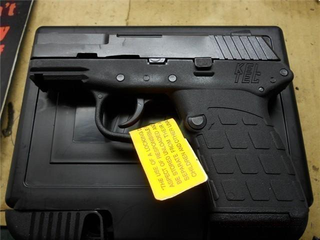 Kel-Tec PF-9 Blue/Black 9mm New.  Guns > Pistols > Kel-Tec Pistols > Pocket Pistol Type