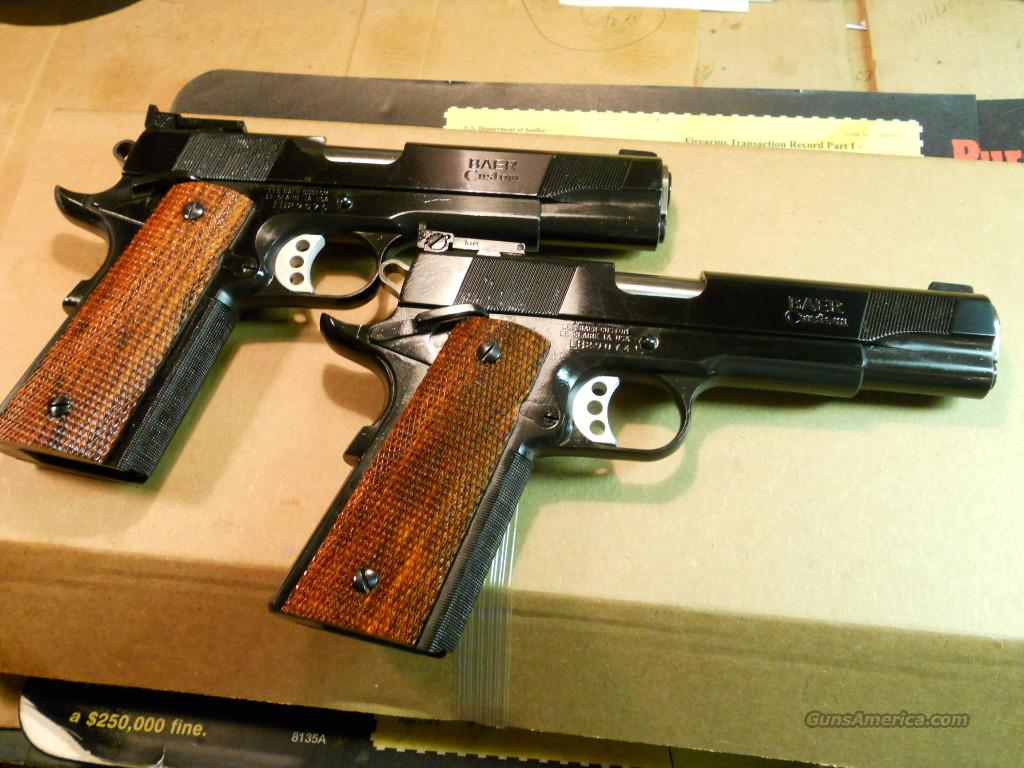 Les Baer -- Pair of Sequential Premier II's Tactical Pistols .  Guns > Pistols > Les Baer Pistols