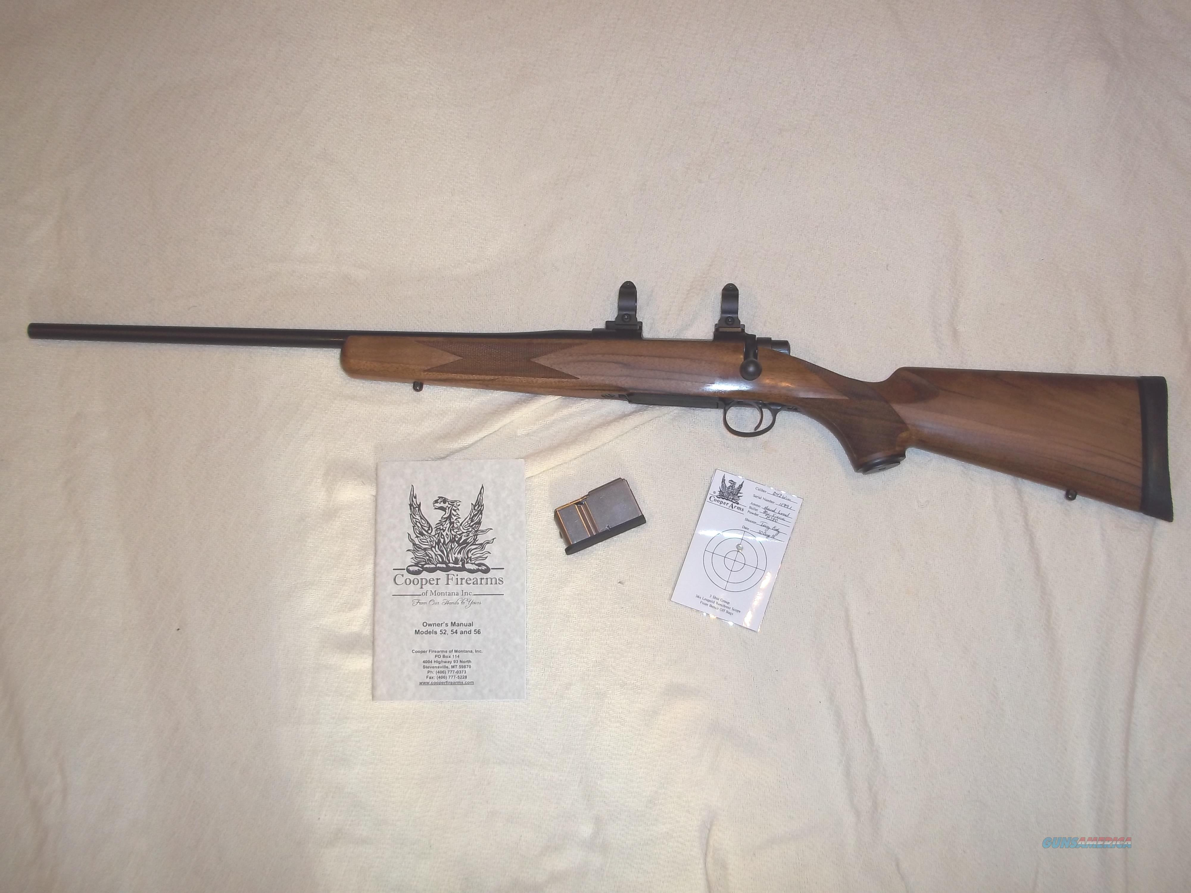 cooper 54 classic left hand 243 win with upgr for sale rh gunsamerica com Cooper Firearms Company Cooper Firearms Styles