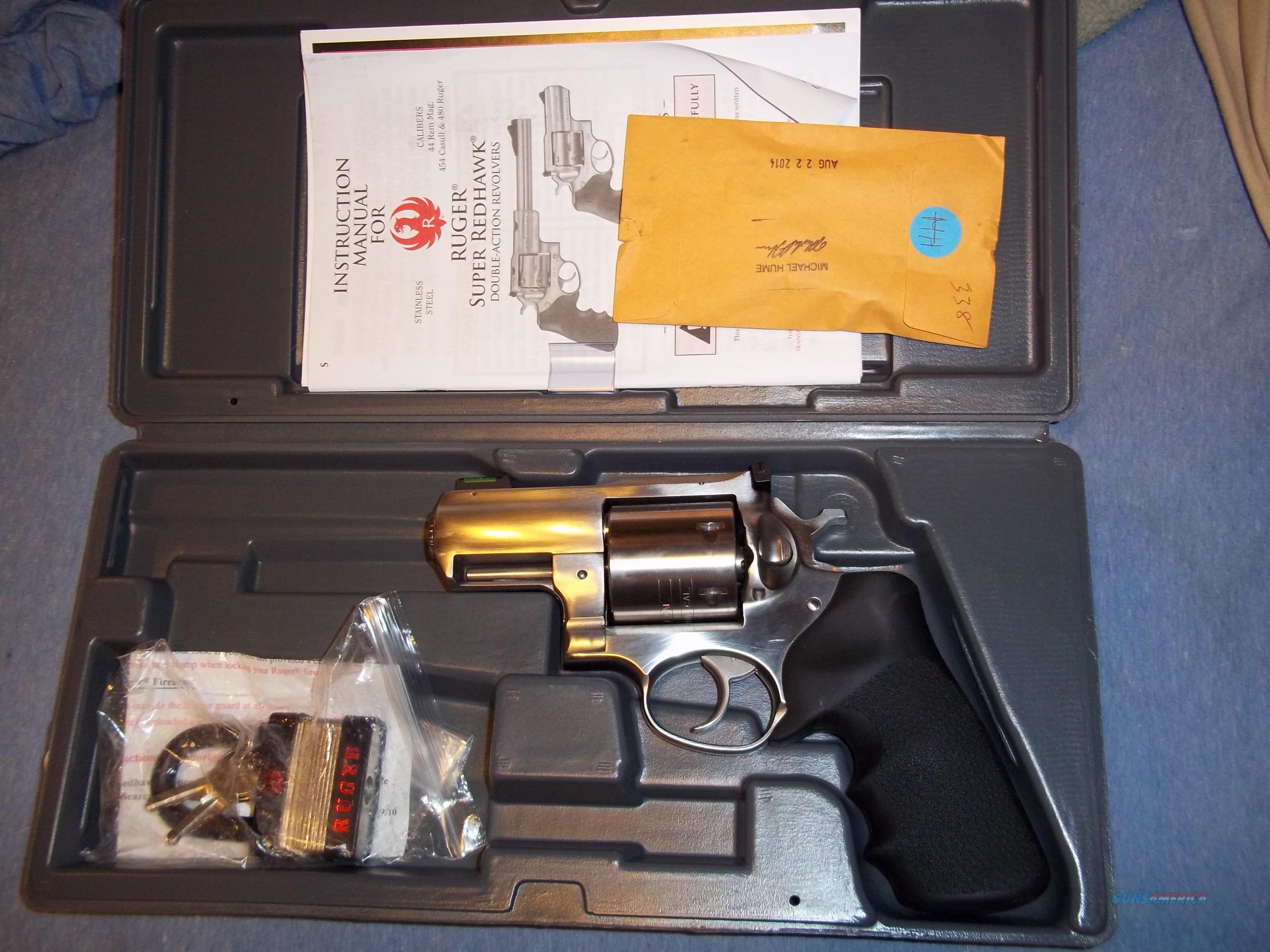 Ruger Alaskan 454 Casull  Guns > Pistols > Ruger Double Action Revolver > Redhawk Type