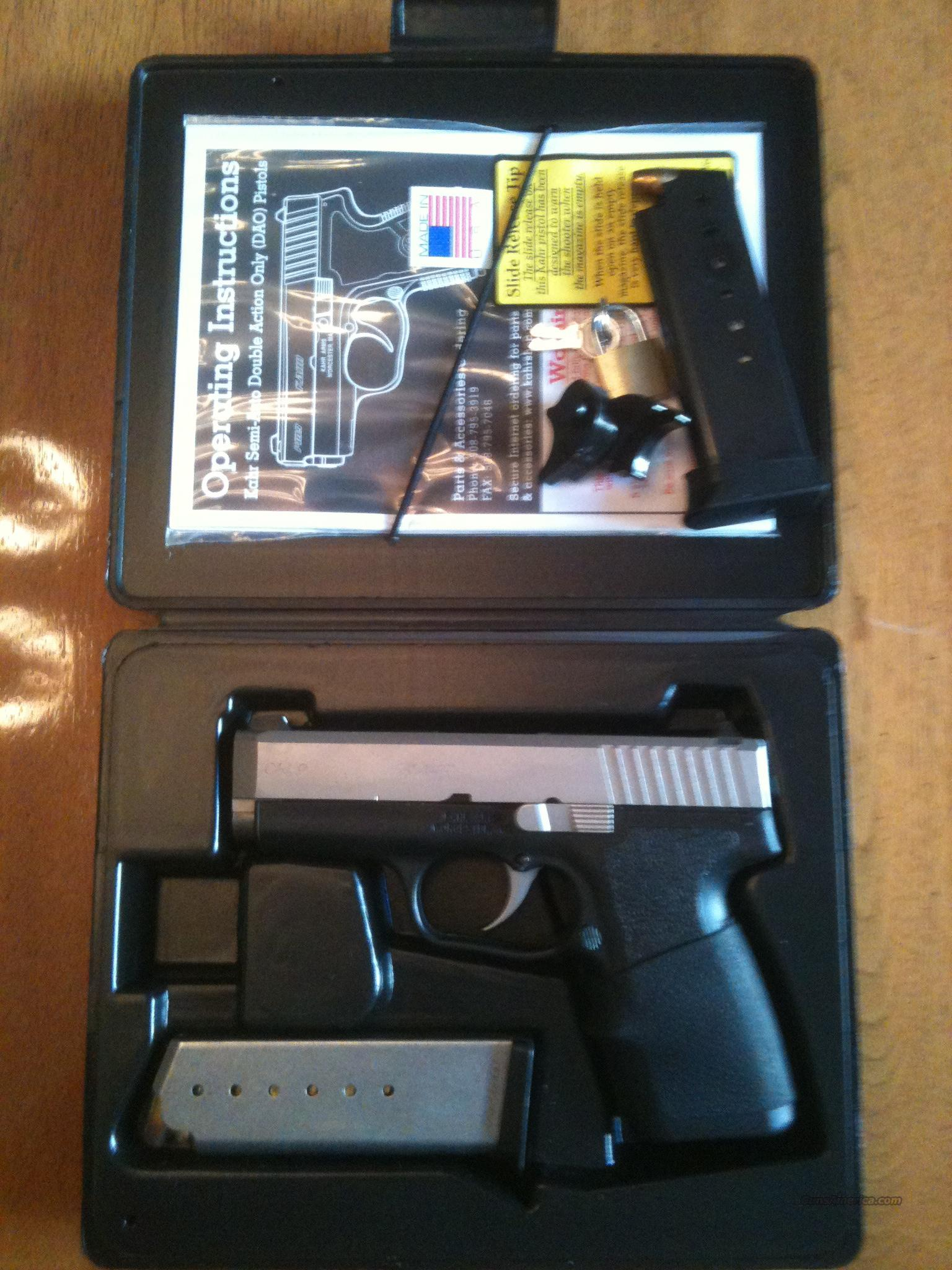 Kahr Arms CW9, excellent condition  Guns > Pistols > Kahr Pistols