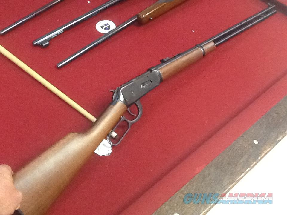As new Winchester model 94 30-30 rifle long barrel full magazine  Guns > Rifles > Winchester Rifles - Modern Lever > Model 94 > Post-64
