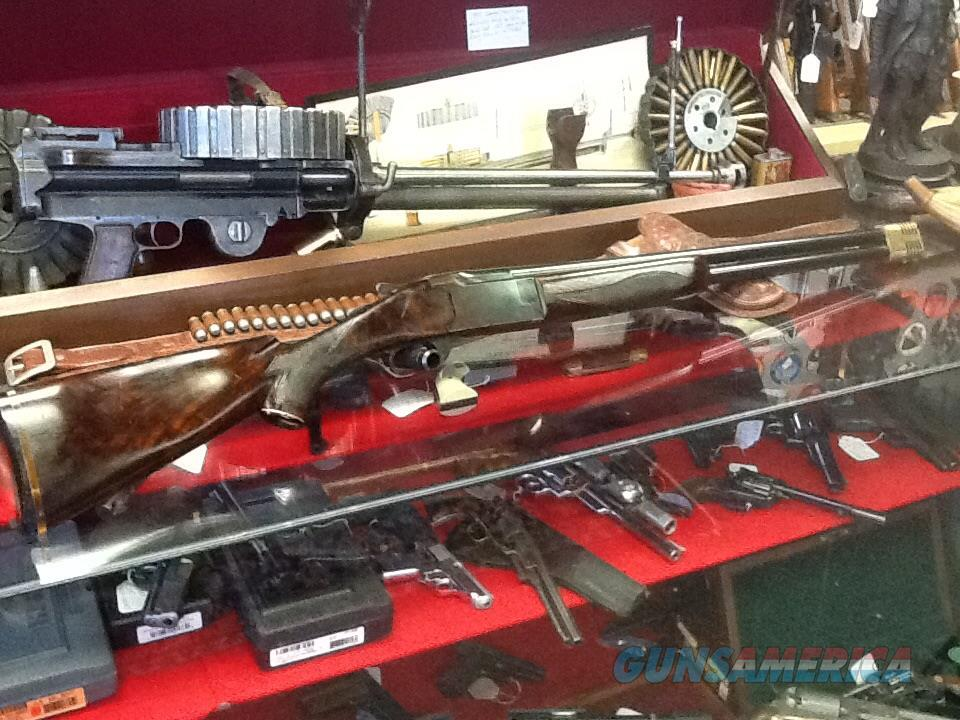 Marlin model 90 12 ga 2 3/4 in 28in brl delux wood and prototype muzzle break  Guns > Shotguns > Marlin Shotguns