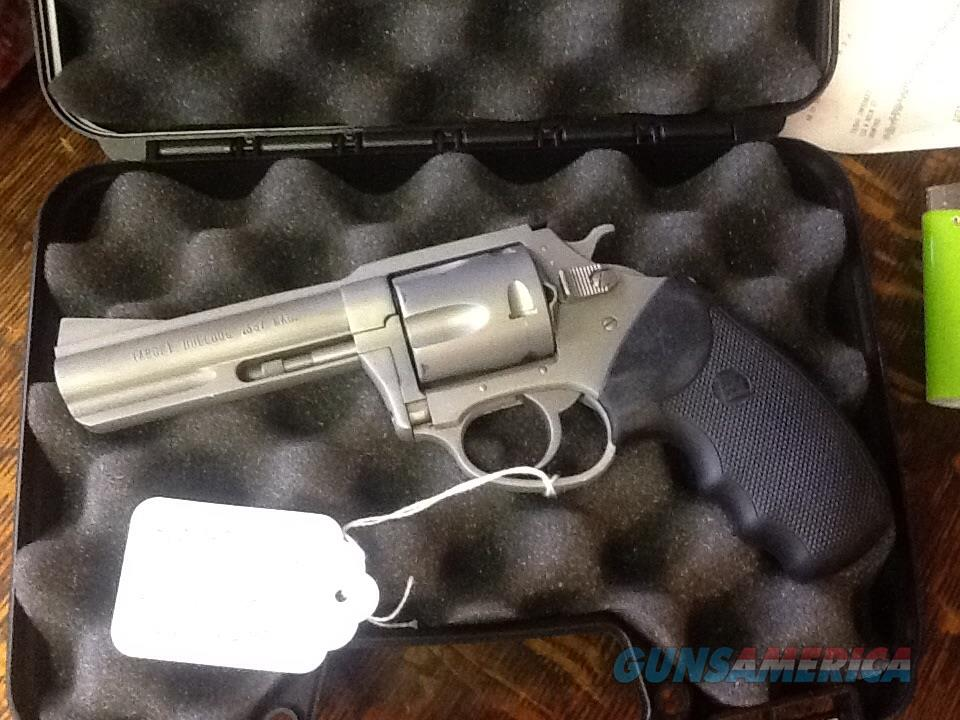 Almost new charter arms target bulldog 357 magnum. 4in stainless steel  Guns > Pistols > Charter Arms Revolvers