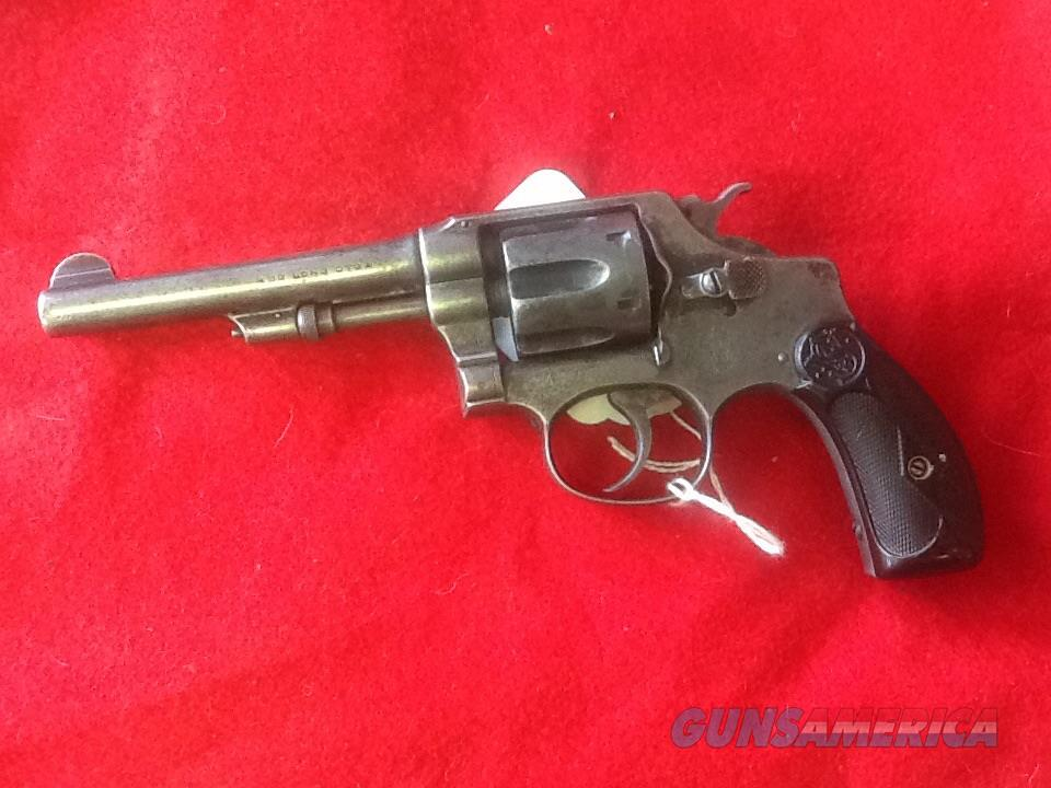 Smith & Wesson model 1903 hand ejector 32 s&w long 4in brl.  Guns > Pistols > Smith & Wesson Revolvers > Pre-1945