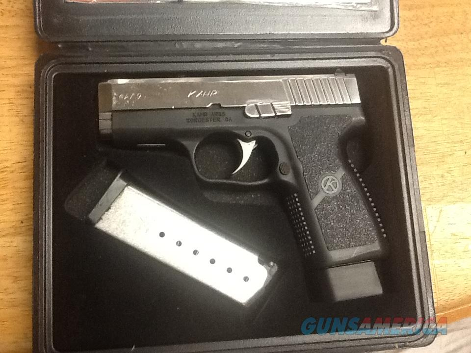 Kahr arms CW9  custom mirror polished stainless slide in box 2 mags  Guns > Pistols > Kahr Pistols