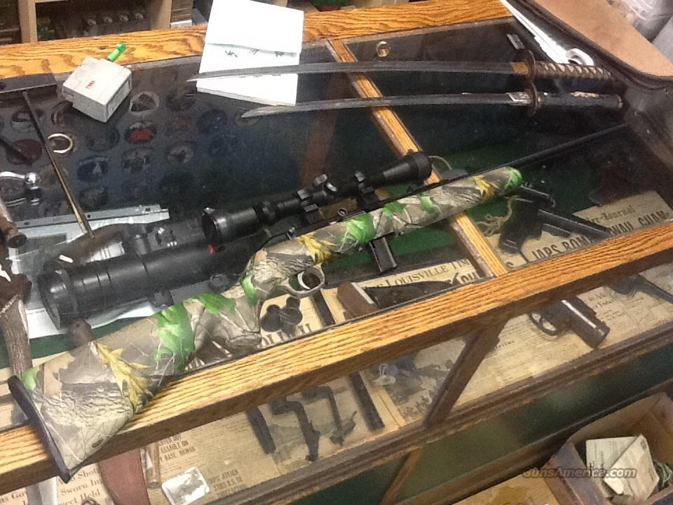 mint as new savage model 64 cammo with  scope   Guns > Rifles > Savage Rifles > Other
