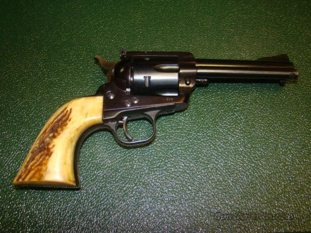 1ST YEAR RUGER BLACKHAWK 357 MAG SPEC ORD STAG GRIPS MINT 99% UNFIRED FROM  FACTORY