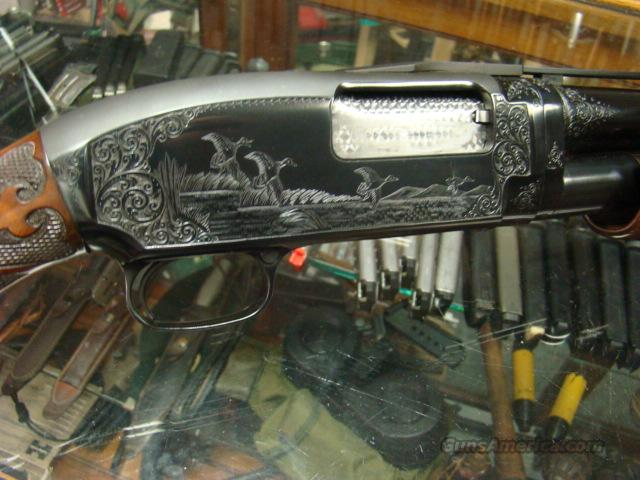 RARE WINCHESTER MODEL 12 #5 ENGRAVED TRAP GUN 12 GA   Guns > Shotguns > Winchester Shotguns - Modern > Pump Action > Trap/Skeet