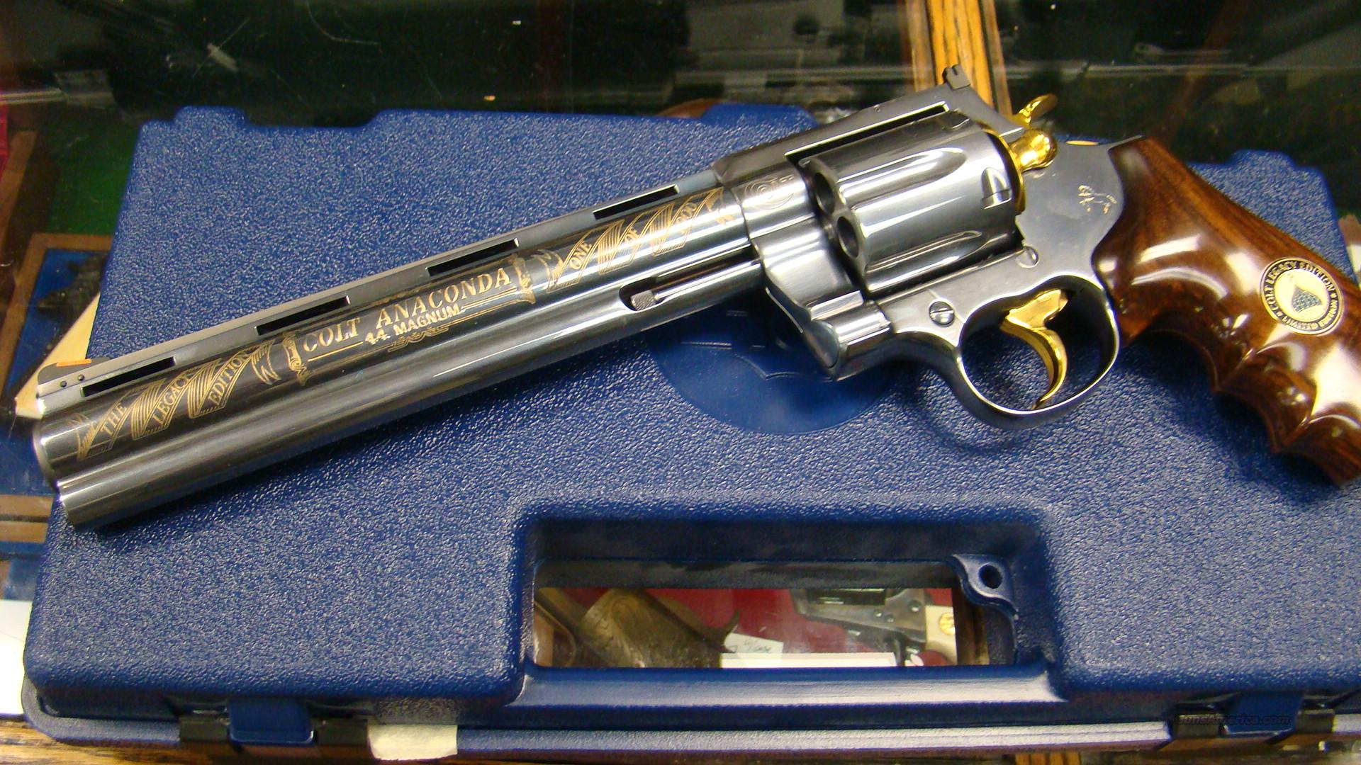 engraved colt anaconda titanium 1 of 1000 unfir for sale. Black Bedroom Furniture Sets. Home Design Ideas