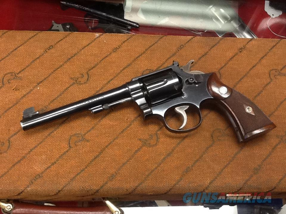Rare 1st model smith & Wesson k-32 target with factory letter rare gun  Guns > Pistols > Smith & Wesson Revolvers > Med. Frame ( K/L )