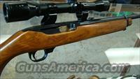 RUGER 44 MAG CARBINE WITH SCOPE NICE OLD MODEL CLEAN  Guns > Rifles > Ruger Rifles > M44/Carbine