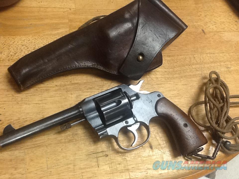 All ORIGL bring back ww1 colt model 1917 army revolver 45 cal.  Guns > Pistols > Colt Double Action Revolvers- Pre-1945